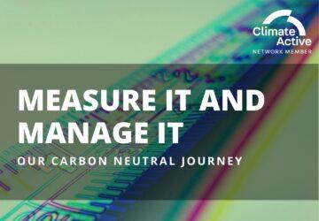 Carbon neutral journey - measurement