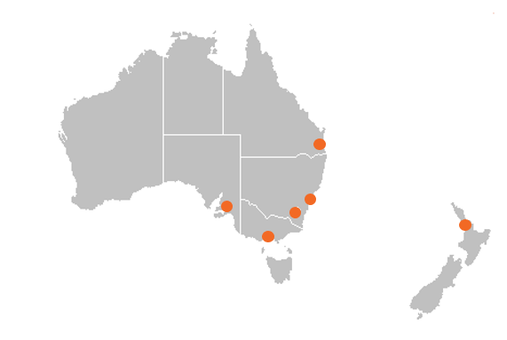 Shoal Locations